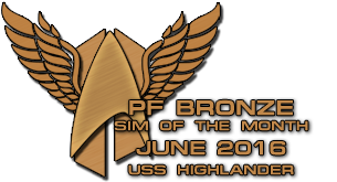 June 2016 Bronze Sim of the Month
