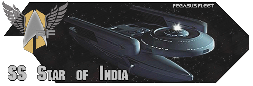 SS Star of India banner